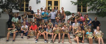 Nagy sikerrel zárult a III. Nemzetközi Kürtkurzus Balatonfüreden