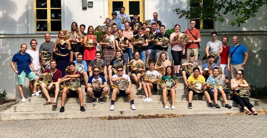 Ismét kimagasló érdeklődés övezte a Balatonfüredi Nemzetközi Kürt Mesterkurzust